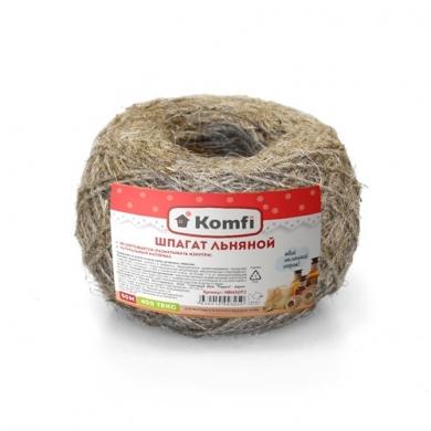 Шпагат льняной, 50м, 400 текс, Komfi