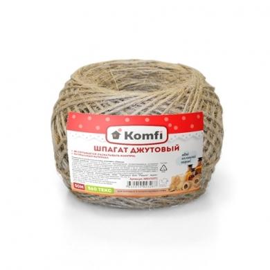 Шпагат джутовый, 50м, 560 текс, Komfi