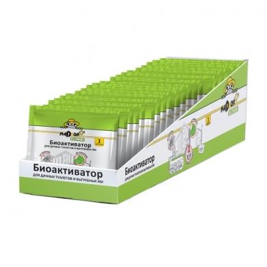 Биоактиватор для дачных туалетов и септиков, 5 гр., таблетка, универсальный, Nadzor Garden