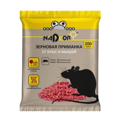 Зерновая приманка от мышей и крыс, 200г