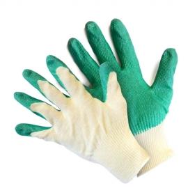 Перчатки вязаные с латексным обливом 38г.