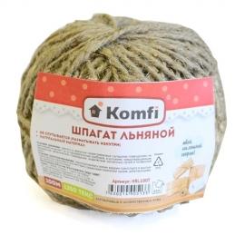 Шпагат льняной, 100м, 1250 текс, Komfi