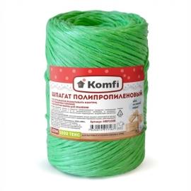 Шпагат полипропиленовый зеленый, 100м, 1000 текс, Komfi