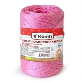 Шпагат полипропиленовый красный, 100м, 1000 текс, Komfi