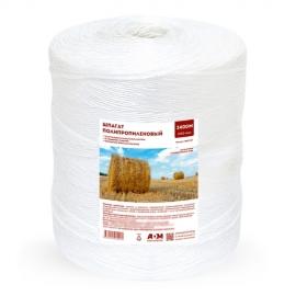 Шпагат полипропиленовый  белый 5кг, 2400м, 2200 текс