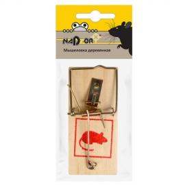 Деревянная мышеловка 10*4.5*0.6cm  Nadzor