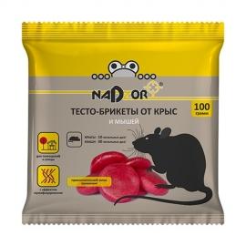 Тесто-брикет от крыс и мышей, 100г.